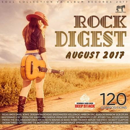 VA - August Rock Digest (2017)