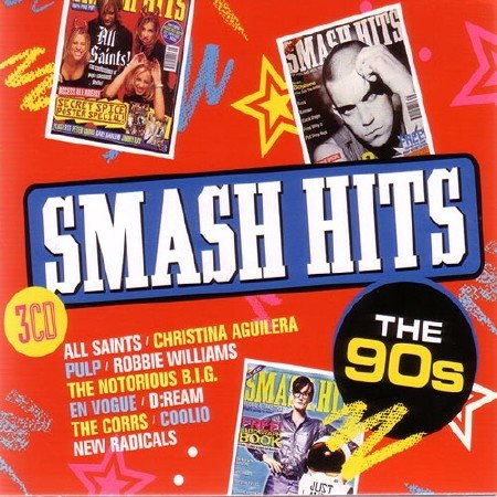 Сборник - Smash Hits The 90s [3CD] (2017)