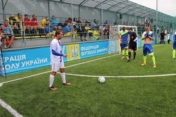 Игорь Лысов организовал футбольный турнир среди команд строителей
