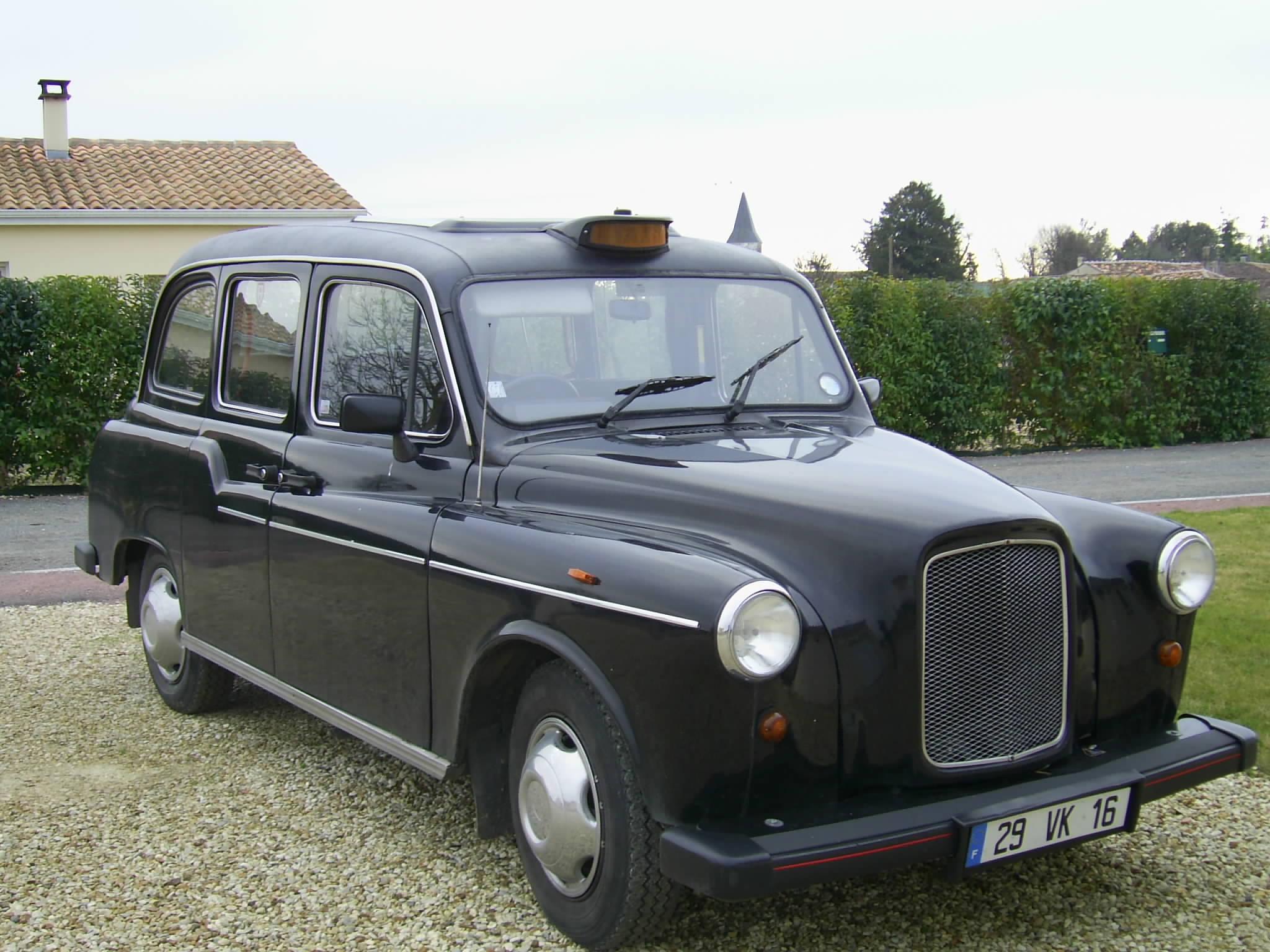Первые в мире такси