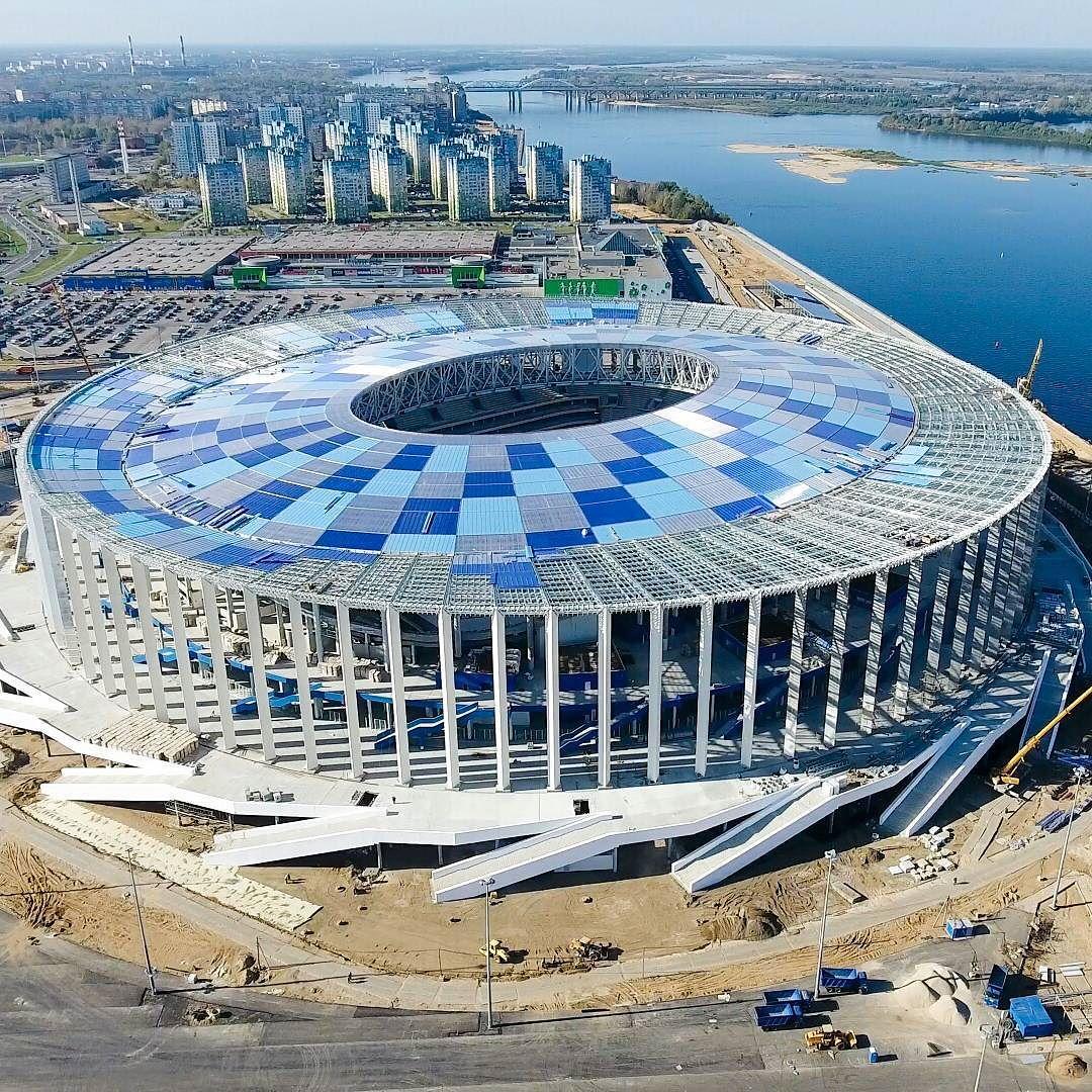 Стадион нижний новгород фото