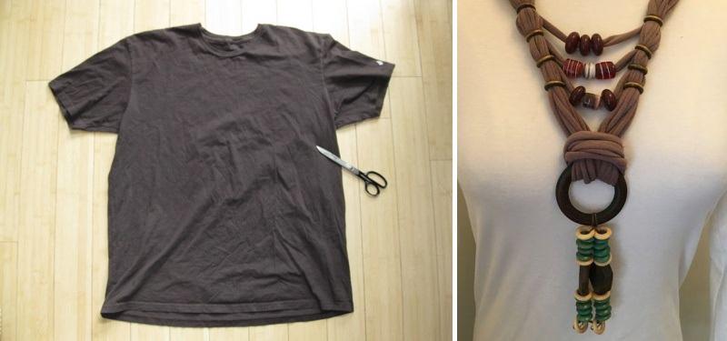 Из старых футболок