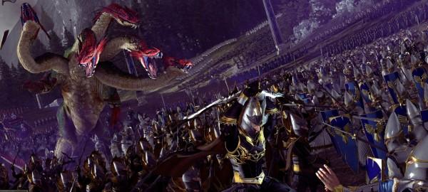 Мега-карта всех земель Total War: Warhammer 1 и 2 [Игры]