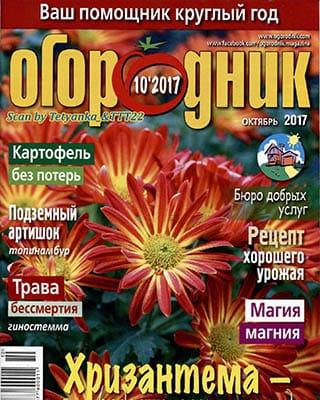 Огородник №10 (2017/PDF)