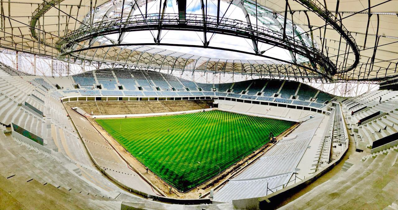Все стадионы к чемпионату мира 2018 ход строительства