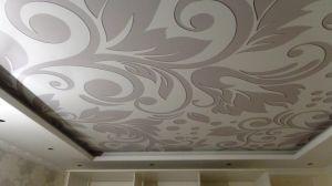 Фактурный натяжной потолок - оригинальное решение
