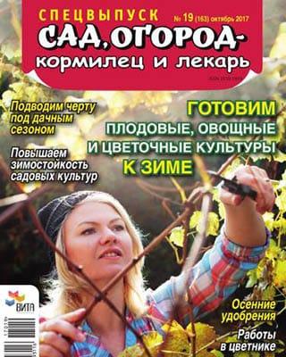 Сад, огород – кормилец и лекарь №19 Спецвыпуск (2017/PDF)