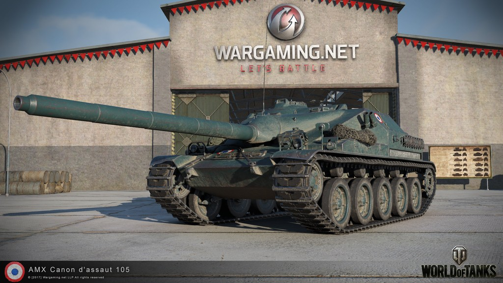 """AMX Canon d'assaut 105 - Архив раздела """"Техника"""" - Официальный ..."""