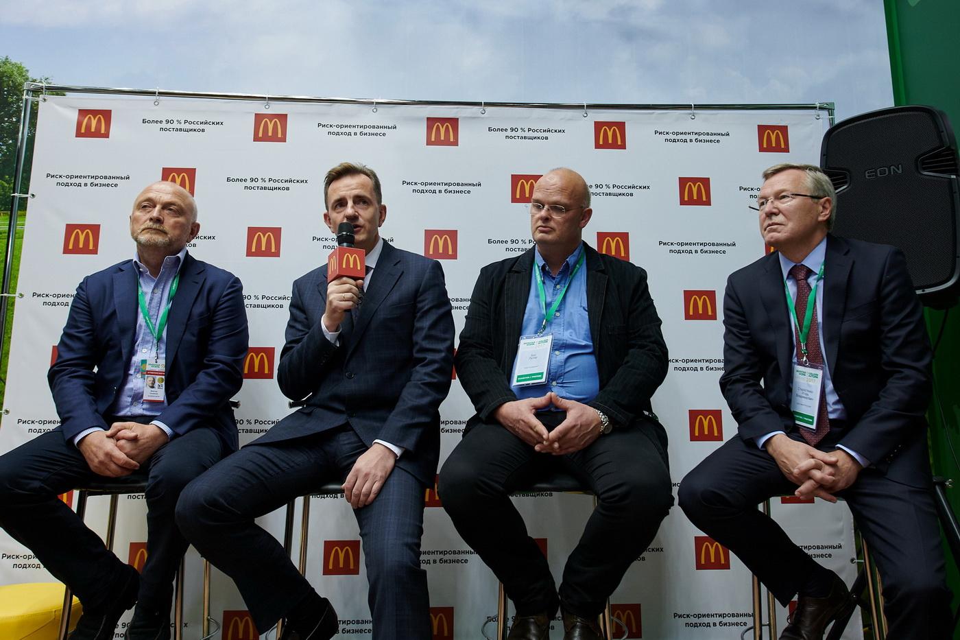 За буквой «М» российского «Макдоналдс» — отечественные поставщики
