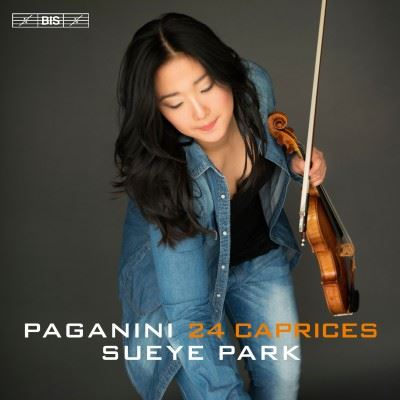 Sueye Park - Paganini: 24 Caprices (2017)