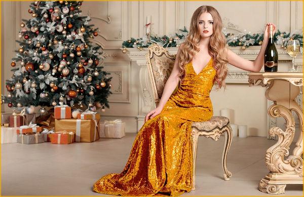 Какое новогоднее платье выбрать в 2018 году