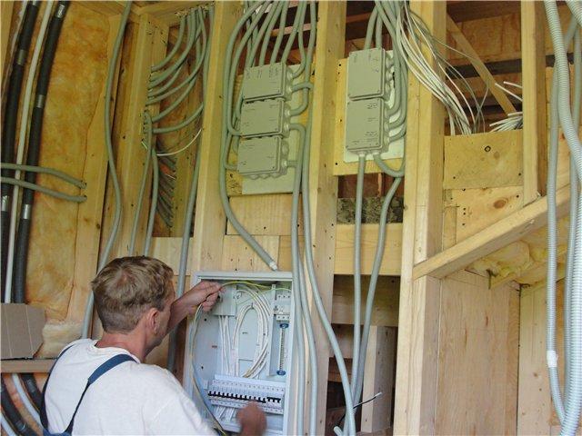 Правила проведения электрической проводки