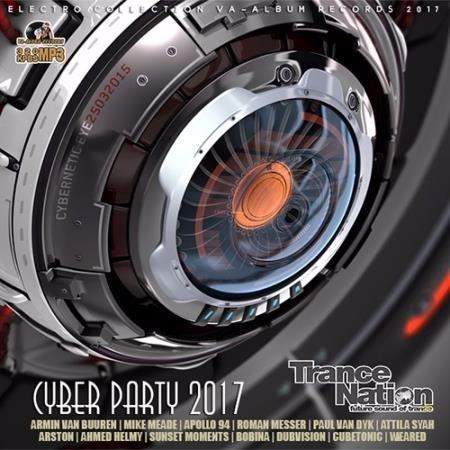 VA - Trance Nation: Cyber Party (2017)