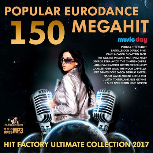 VA - 150 Popular Eurodance Megahit (2017)