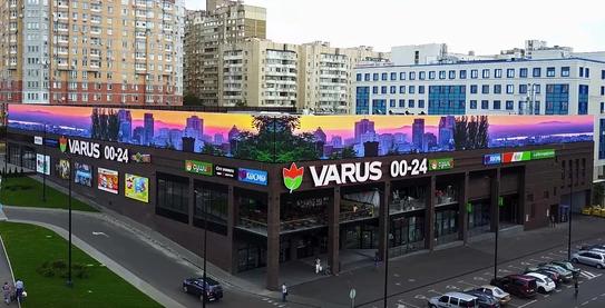 Применение LED экранов в рекламной индустрии