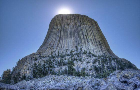 Башня Дьявола (Девилс-Тауэр), США