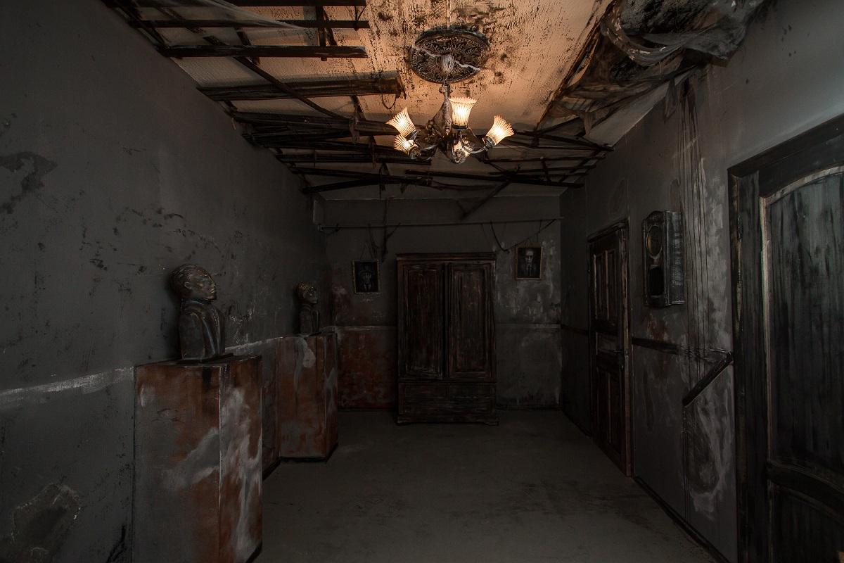 квест Особняк с привидениями комната-1