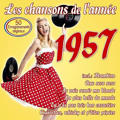 VA - Les chansons de l'année 1957 (2017)