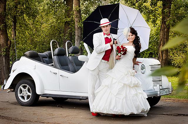 Красивые машины на свадьбу