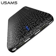 USAMS Запасные Аккумуляторы Ultra Slim 2.1a Выход 10000 мАч