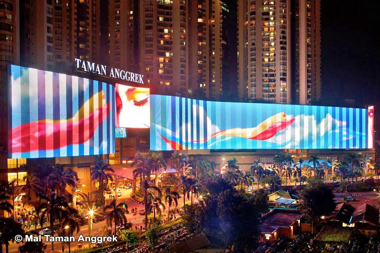 Применение LED экранов в рекламной индустрии-1