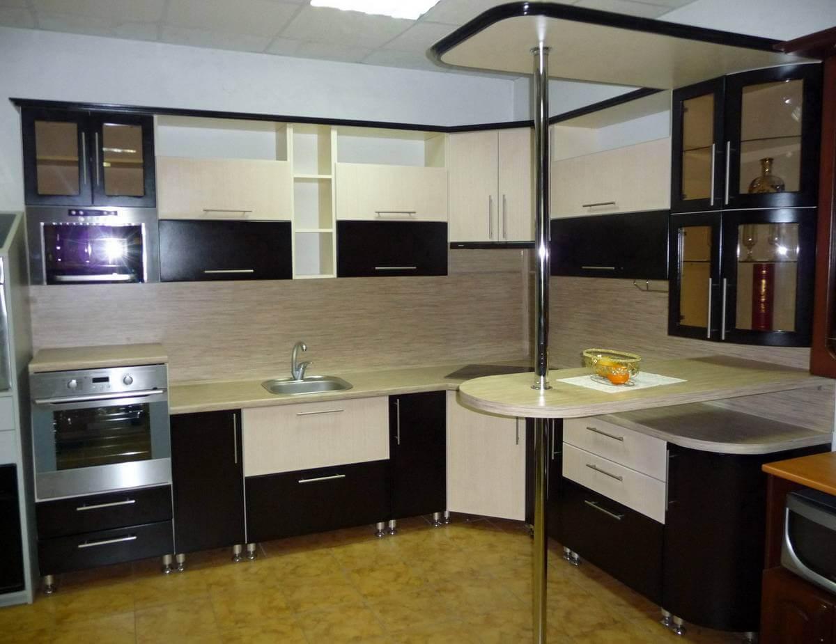 Кухня с барной стойкой от фабрики - Кухни Петербурга