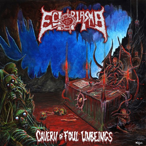 Ectoplasma - Cavern Of Foul Unbeings (2018/FLAC)