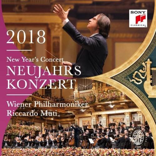Riccardo Muti & Wiener Philharmoniker - New Year's Concert [2CD] (2018)