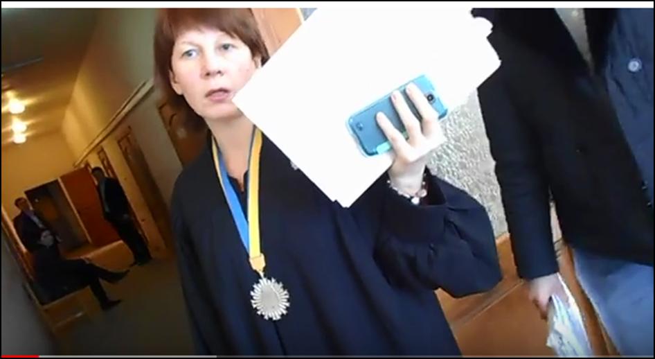 Судья Ужгородского городского суда Наталья Дергачева
