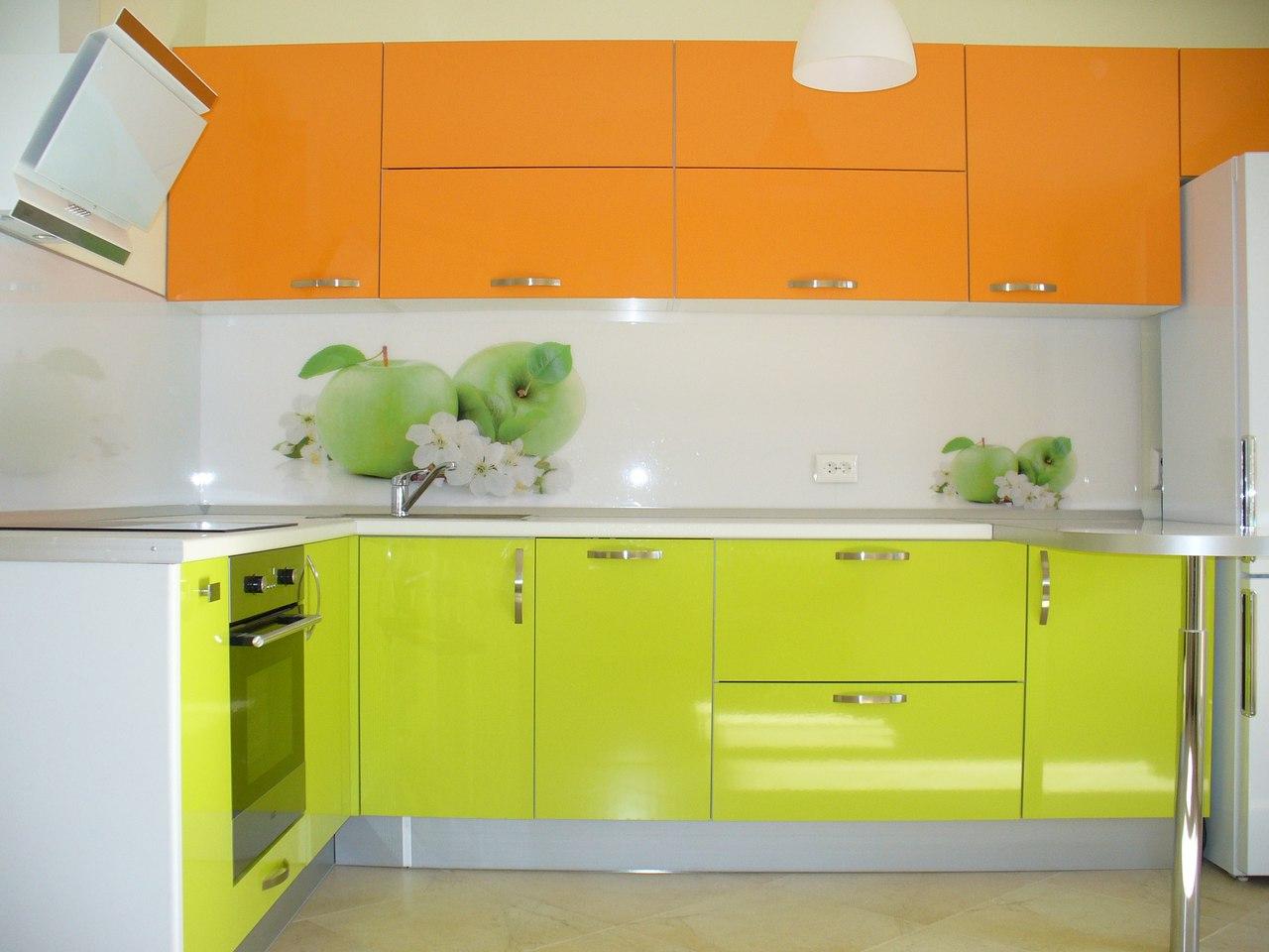 Модульный яркие кухни