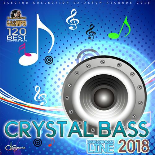 VA - Crystal Bass: DnB Line (2018)
