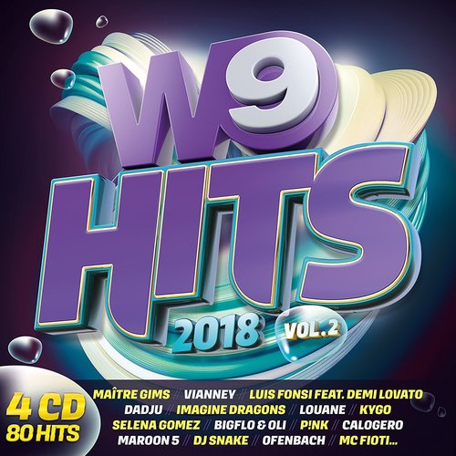 VA - W9 Hits 2018 Vol.2 [4CD] (2018)