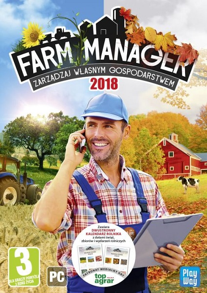 Farm Manager 2018 (2018/RUS/ENG/MULiI10/RePack by qoob)