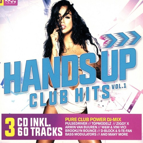 VA - Hands Up Club Hits Vol.1 [3CD] (2018)
