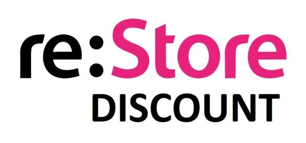 Сеть фирменных магазинов техники Apple Re:Store DISCOUNT предложила множество товаров с хорошими скидками