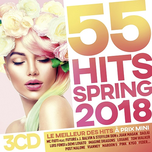 VA - 55 Hits Spring 2018 [3CD] (2018)