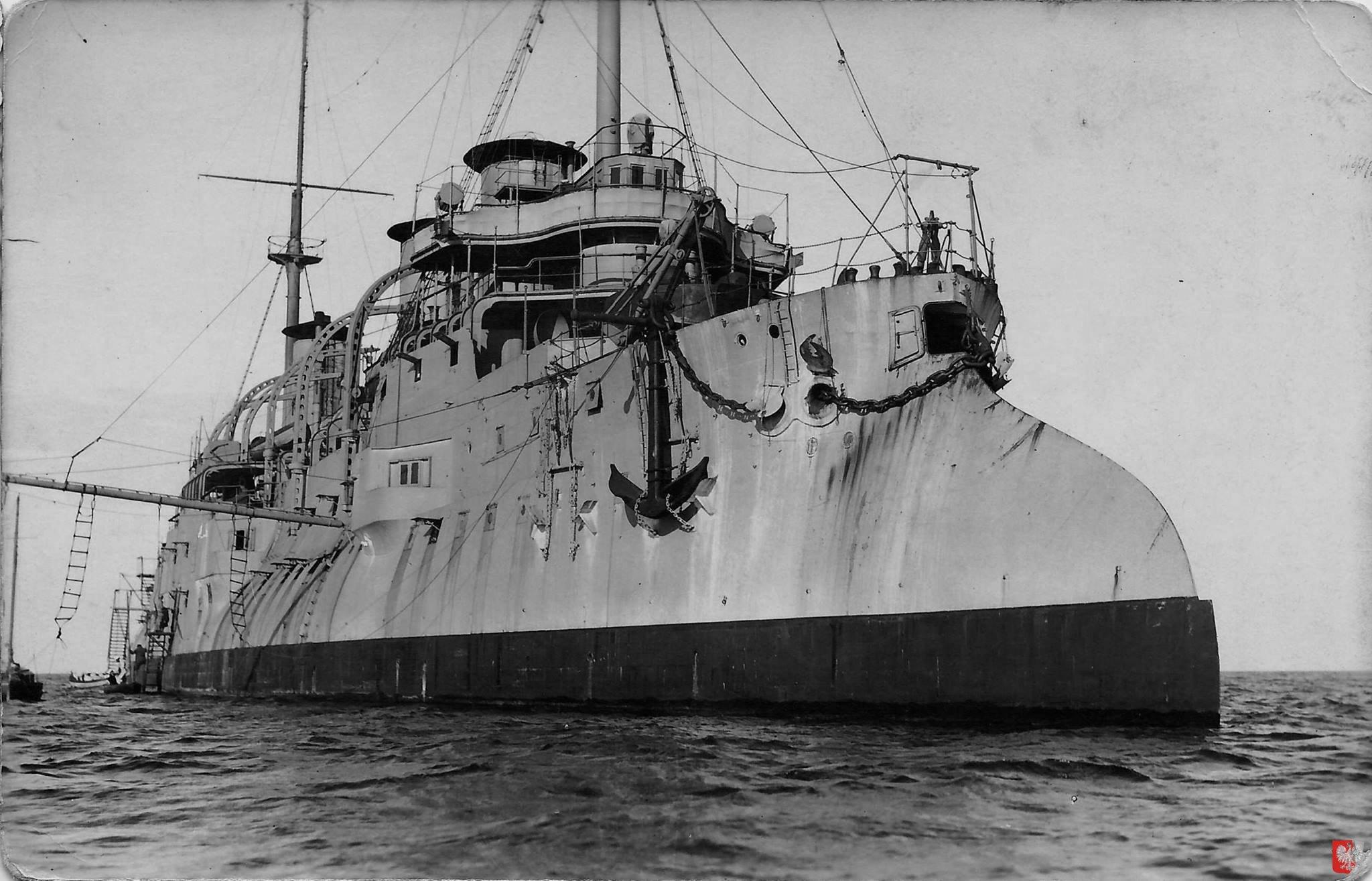 Самый крупный корабль в истории польского ВМФ