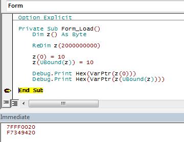 Making 32-bit VB6/VBA Code LARGEADDRESSAWARE-VBForums