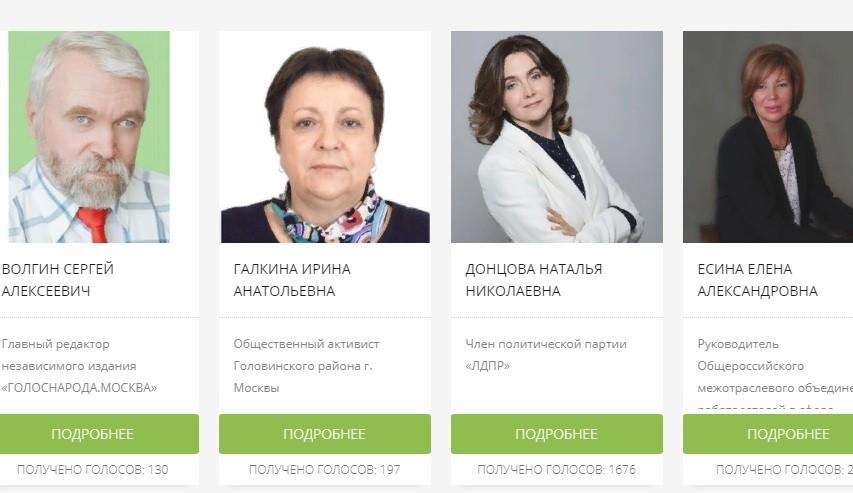 В Москве проходит праймериз по выбору единого зеленого кандидата в мэры столицы