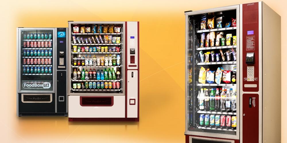 Снековые торговые автоматы