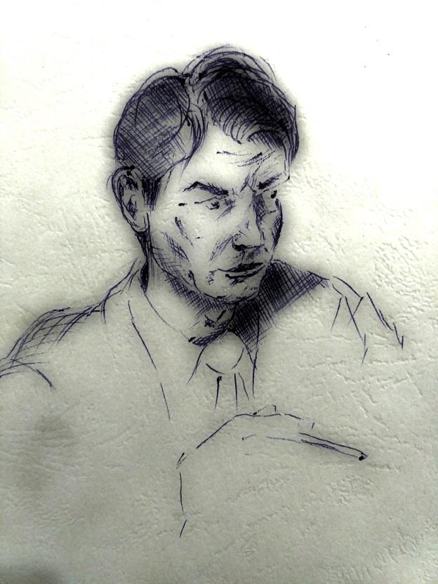 Портрет Игоря Слипченко, персонажа романа ,,Русский тупик,,