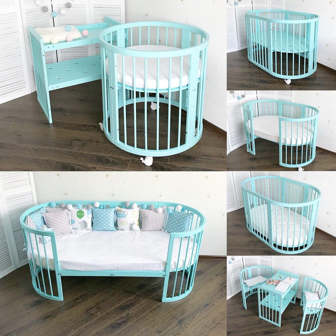 Детские кроватки-трансформеры Дрёма – для мам и их малышей!