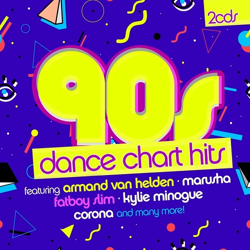 VA - 90s Dance Chart Hits [2CD] (2018)