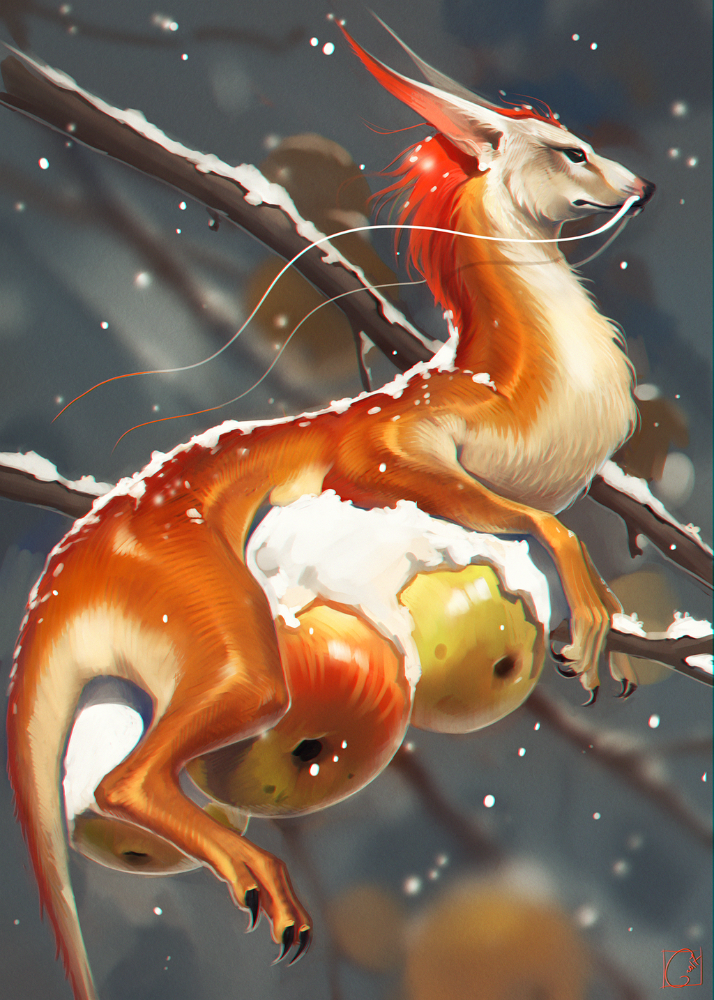 snow dragon by GaudiBuendia.png