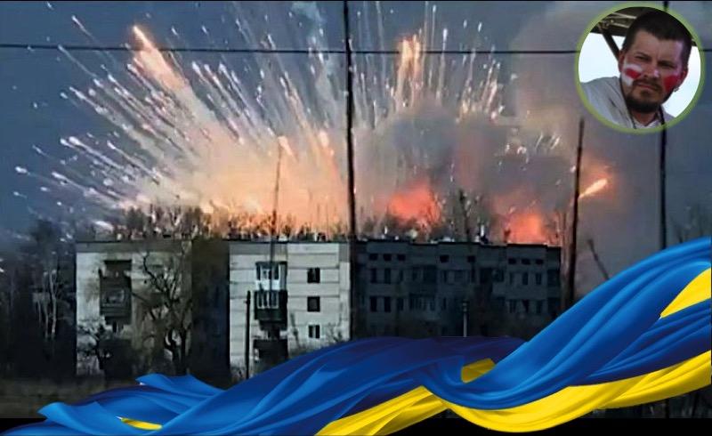 Артур Прузовский о взрывах боеприпасов на складах в Балаклее