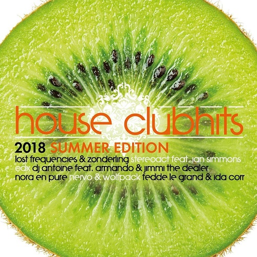 VA - House Clubhits Summer Edition 2018 [2CD] (2018)