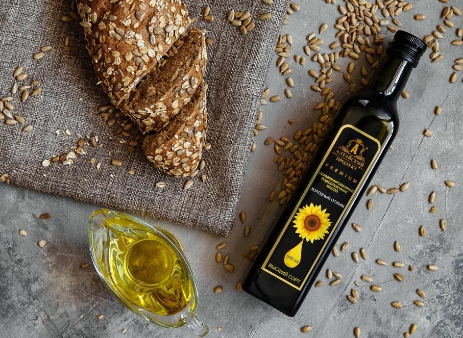 Подсолнечное масло холодного отжима «Алтайский продукт» – всё лучшее для Вас!