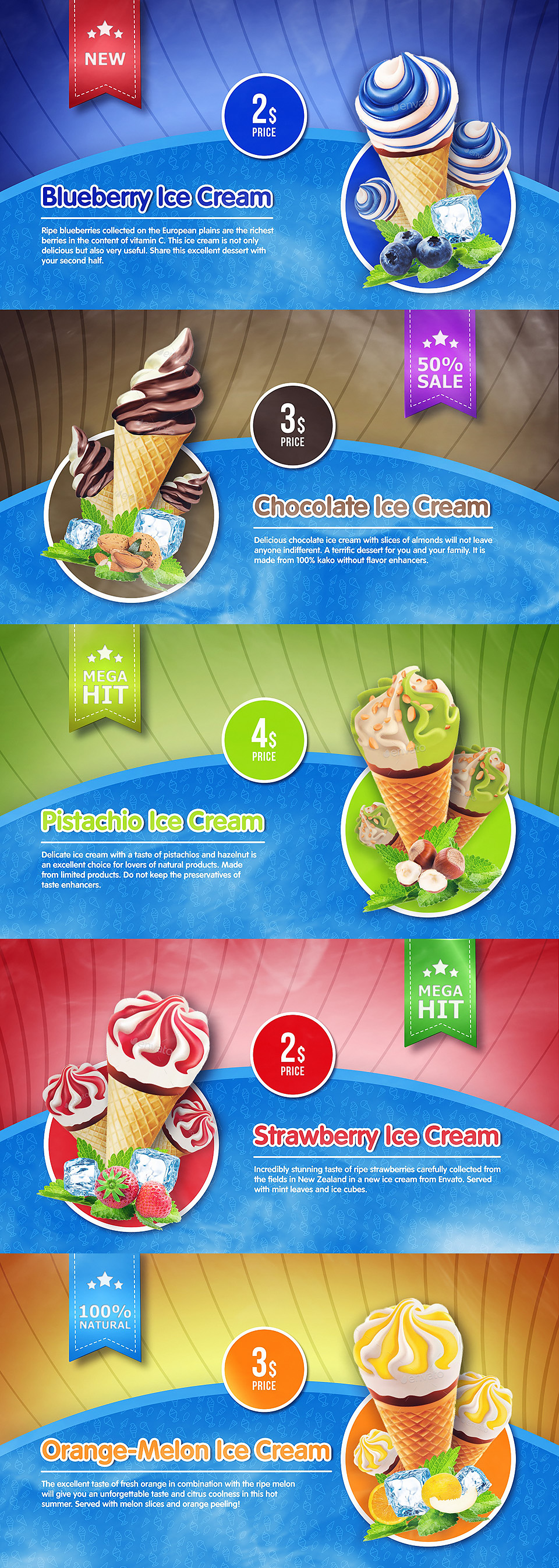 Ice Cream Menu - 1