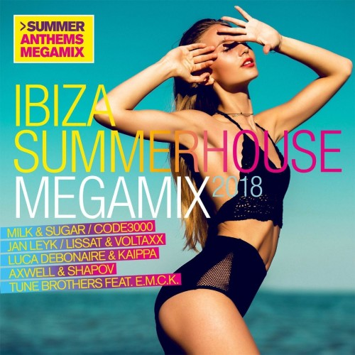 VA - Ibiza Summerhouse Megamix 2018 [2CD] (2018)