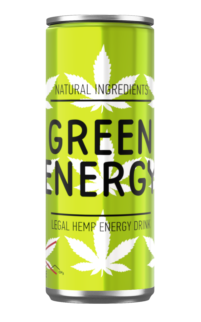 The First Energy Drink In Ukraine With Cannabis Seed Extract Green Energy Now Available In 0 25 L Cans New Products Group